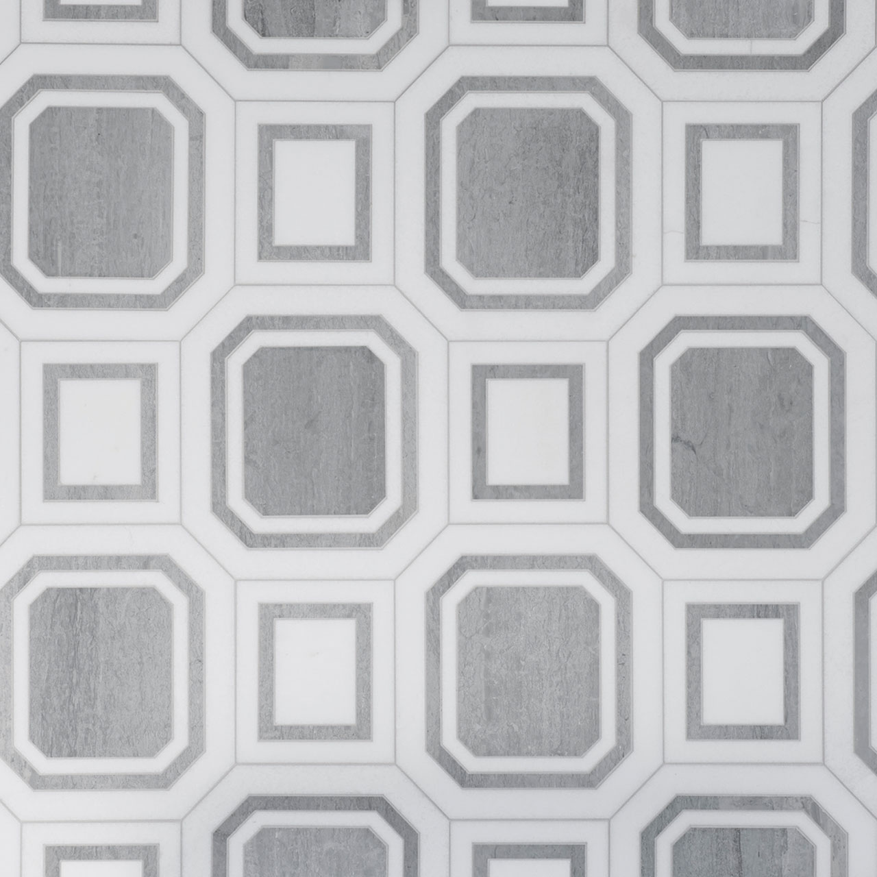 Large Hex Tile Grey